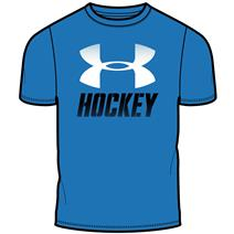 Under Armour Wordmark Hockey Short Sleeve Boys' Shirt