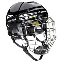 Bauer RE-AKT 75 Hockey Helmet Combo - Black (t-1)