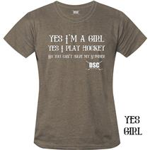 DSC Hockey Yes Girl Women's T-Shirt