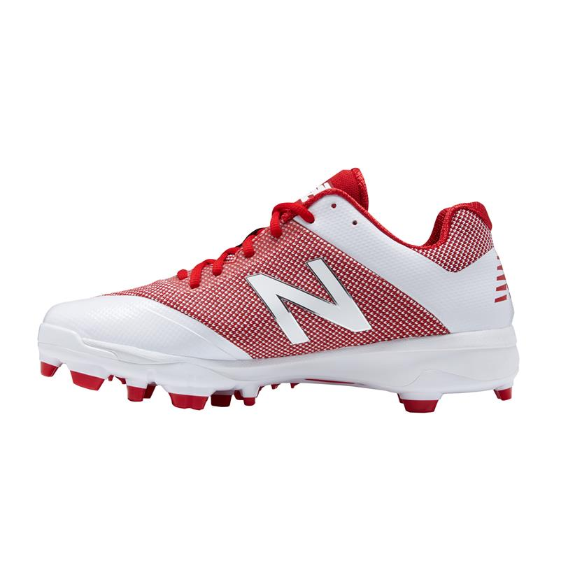80a08d1113f New Balance 4040v4 Low-Cut Molded Men s Baseball Cleats - Red ...
