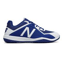 New Balance T4040v4 Men's Turf Baseball Cleats - Royal / White