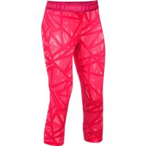 Under Armour HeatGear Armour Printed Youth Capris