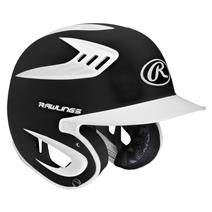 Rawlings 80 Mph Two-Tone Translucent Matte Junior Batting Helmet