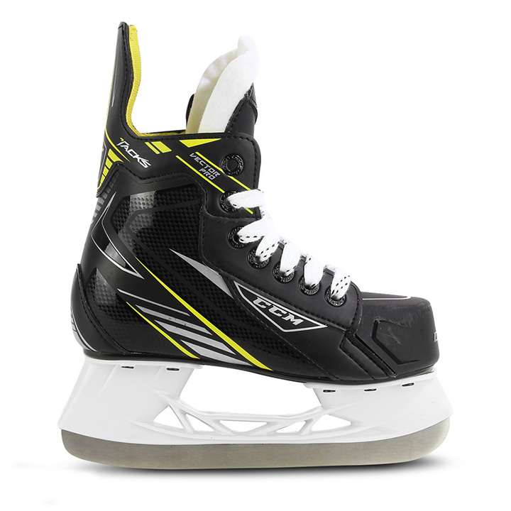 49659f86781 CCM Tacks Vector Pro Youth Hockey Skates 2017 – Only at Source For Sports