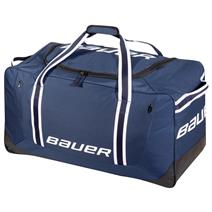 BAUER 650 Large Wheeled Hockey Bag - Navy