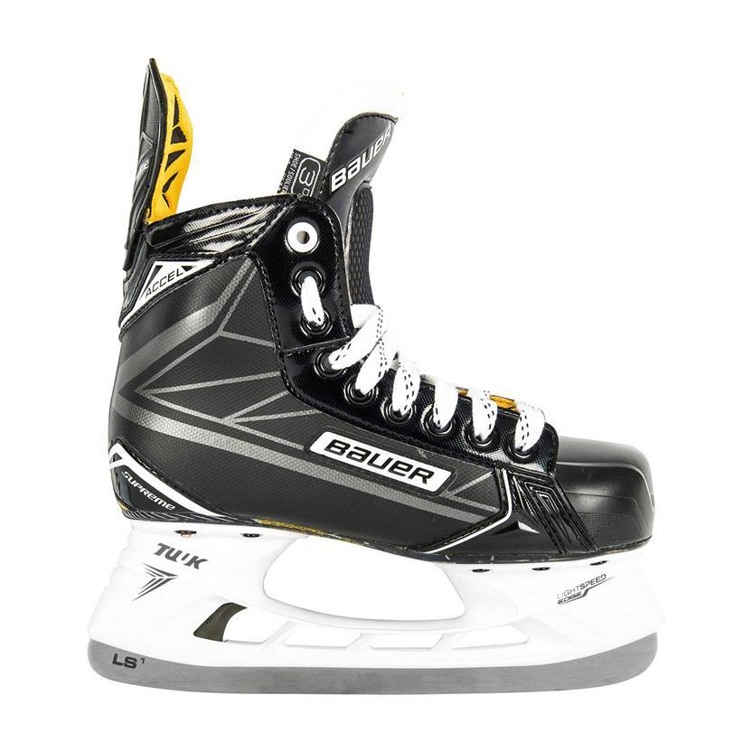 bauer supreme accel junior hockey skates source for sports. Black Bedroom Furniture Sets. Home Design Ideas