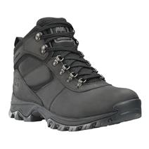 Timberland Mt. Maddsen Mid Leather Men's Waterproof Hiking Boots - Black