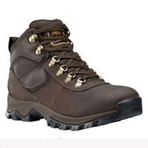 Timberland Mt. Maddsen Mid Leather Men's Waterproof Hiking Boots - Dark Brown