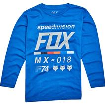 Fox Draftr Youth Long Sleeve Shirt