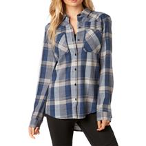 Fox Flown Flannel Women's Shirt
