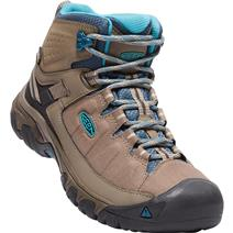 Keen Targhee Exp Mid Women's Waterproof Hiking Boots - Brindle/Blue Coral