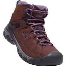 Keen Targhee Exp Mid Women's Waterproof Hiking Boots - French Roast/Purple Plumeria