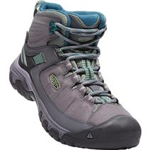 Keen Targhee Exp Mid Women's Waterproof Hiking Boots - Steel Grey/Basil