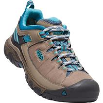 Keen Targhee Exp Women's Waterproof Hiking Boots - Brindle/Blue Coral