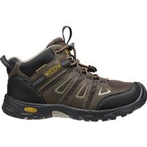Keen Big Kid's Oakridge Youth Waterproof Boots - Cascade Brown/Brindle