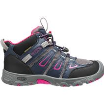 Keen Big Kid's Oakridge Youth Waterproof Boots - Dress Blues/Very Berry