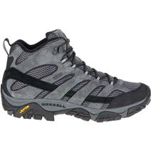 Merrell Moab 2 Mid Waterproof Men's Hiking Boots - Granite