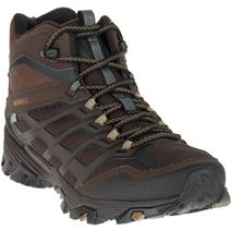 Merrell Men's Moab FST Ice+ Thermo Mid Waterproof Men's Winter Boot - Espresso