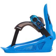 K2 Mini Turbo Snowboard Bindings - Blue
