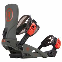 Ride LTD Snowboard Bindings - Olive