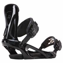 Ride KX Snowboard Bindings - Black