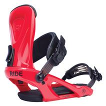 Ride KX Snowboard Bindings - Red