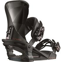 Salomon Alibi Snowboard Bindings - Black