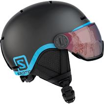 Salomon Grom Visor Kids Helmet - Black