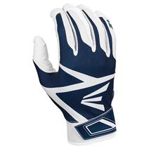 Easton Z3 Baseball Batting Gloves - White / Navy