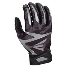 Easton Z7 Hyperskin Baseball Batting Gloves - Black / Black