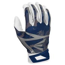 Easton Z7 Hyperskin Baseball Batting Gloves - White / Navy Basecamo