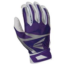 Easton Z7 Hyperskin Baseball Batting Gloves - White / Pucerple Basecamo