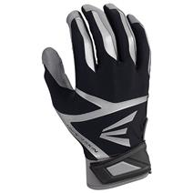 Easton Z7 VRS Hyperskin Baseball Batting Gloves - Grey / Black