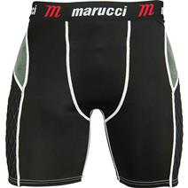 Marucci Elite Padded Slider Youth Baseball Shorts With Cup