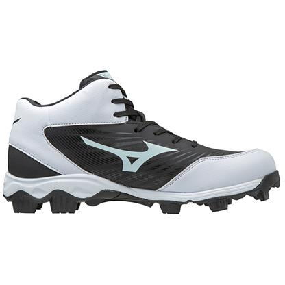 0cd532fd0a8 Mizuno 9-Spike Advanced Franchise 9 Mid Men s Molded Baseball Cleats ...