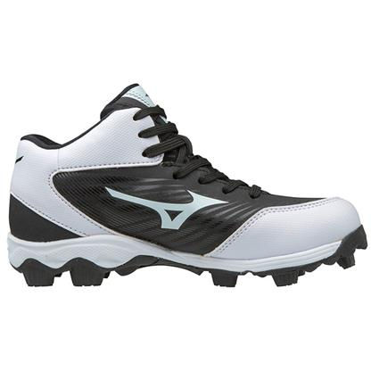 4ee230790e20 Mizuno 9-Spike Advanced Franchise 9 Mid Youth Molded Baseball Cleats ...