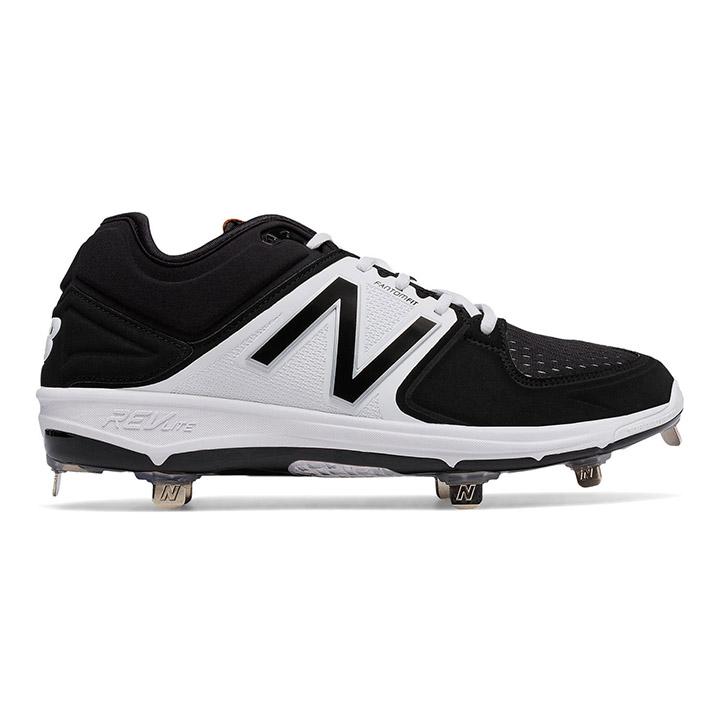 75f8b331071 New Balance 3000v3 Low-Cut Metal Men s Baseball Cleats - Black   White