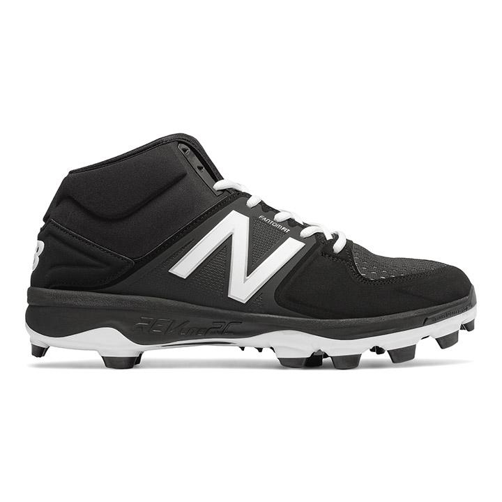 2eeb736db009 New Balance 3000v3 Men's Mid-Cut TPU Men's Baseball Cleats - Black / Black