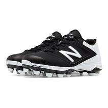 New Balance SP4040v1 Low-Cut TPU Women's Baseball Cleats - Black / White