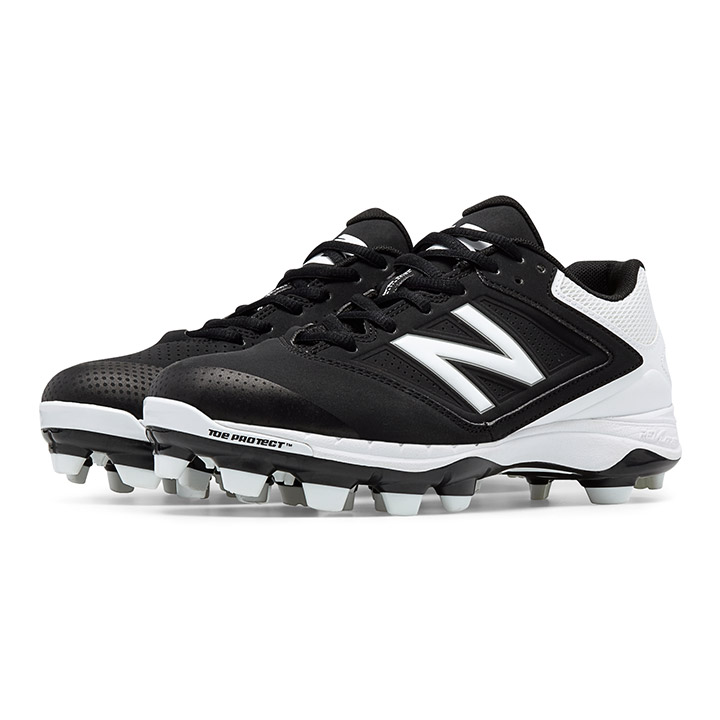 0b21315d6e9 New Balance SP4040v1 Low-Cut TPU Women s Baseball Cleats - Black   White