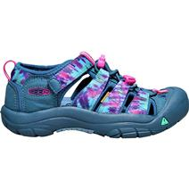 Keen Newport H2 Youth Sandals - Navy Tie Dye