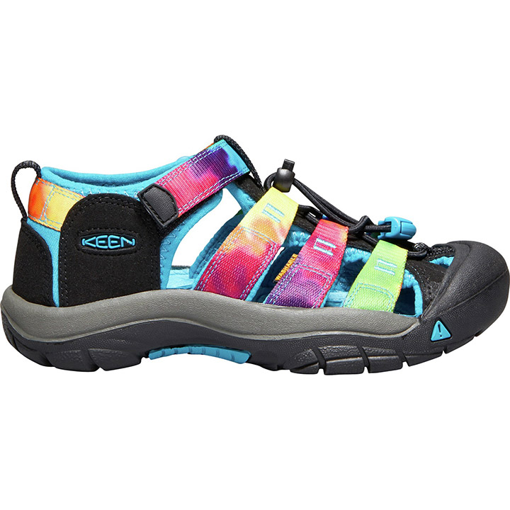 1f8507f4d681 Keen Newport H2 Youth Sandals - Rainbow Tie Dye