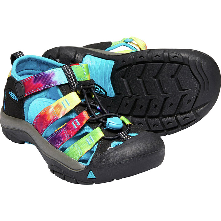 7e22d7605dd3 Keen Newport H2 Youth Sandals - Rainbow Tie Dye
