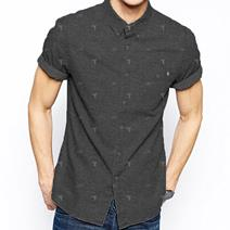 TEAMLTD Denim Palm Tee