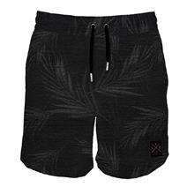 Short de bain Black Palm Denim de Teamltd pour hommes