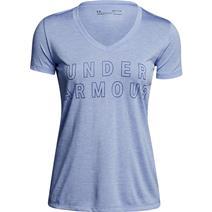 Under Armour Tech Graphic Twist V-Neck Women's Shirt