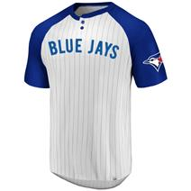 Majestic MLB Everything In Order Men's Crew Neck Tee - Toronto Blue Jays
