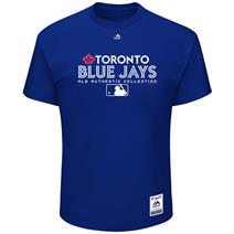Majestic MLB Team Drive Men's Tee - Toronto Blue Jays
