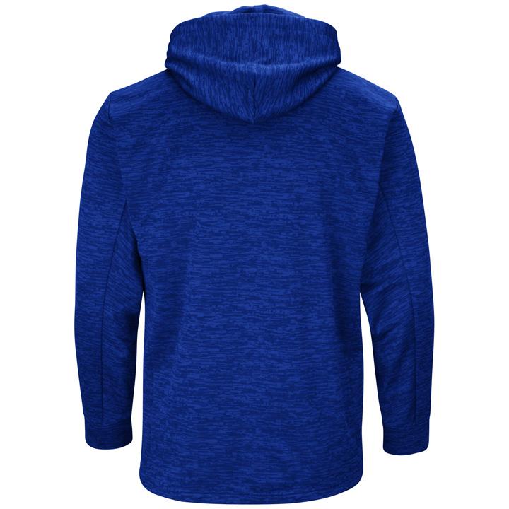 new style a2402 d183e Majestic MLB Team Drive Men's Fleece Hoodie - Toronto Blue ...