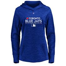 Majestic MLB Team Drive Women's Fleece Hoodie - Toronto Blue Jays